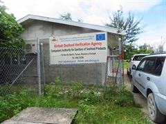 Kiribati Seafood Verification Authority - (Ministry of Fisheries and Marine Resources Development)